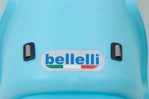 Велокрісло Bellelli LOTUS Італія на раму relax з відкидною спинкою чорний