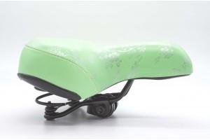 Сидіння для велосипеда на пружинах Green