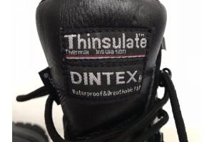 Берци шкіряні Thinsulate Dintex чорний 42 розмір 27 см