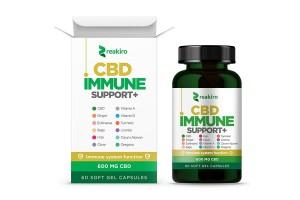 Капсули КБД для підтримки імунітету Reakiro 600 мг 60 шт