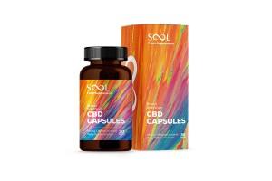 Капсули КБД Medic Sool Broad Spectrum 450 mg 30 шт Польща