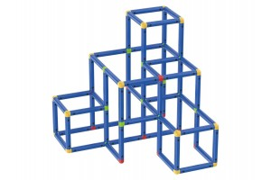 Конструкція для лазіння, повзання та гри PlayTive для дітей від 1 року Німеччина