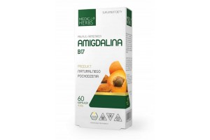Вітамін В17 Амігдалин Medica Herbs Ядра абрикоса 60 капсул
