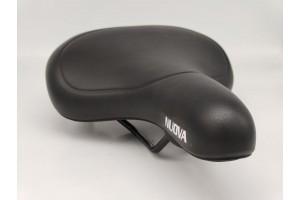 Сідло для велосипеда NUOVA на пружинах Black