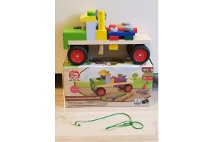 Конструктор вантажівка із будівельними блоками та інструментами PlayTive 19 елементів