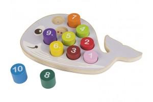 Дерев'яна іграшка рибка PLAYTIVE®JUNIOR