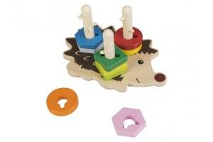 Дерев'яна іграшка їжак PLAYTIVE®JUNIOR