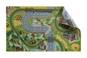 """Двосторонній ігровий килимок """"Село-Місто"""" PlayTive Junior"""