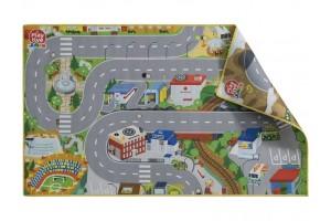 """Двосторонній ігровий килимок """"Навколо світу-Мегаполіс"""" PlayTive Junior"""