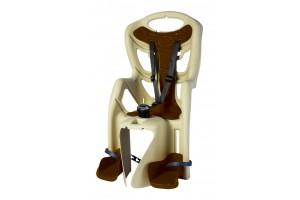 Велокрісло Bellelli Pepe Clamp на багажник бежеве