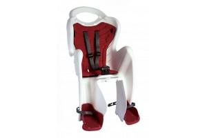 Велокрісло Bellelli Mr. Fox Італия clamp на багажник білий