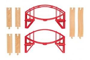 Дерев'яна залізниця Playtive Bridge Німеччина
