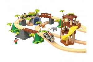 Дерев'яна залізниця Playtive Jungle Німеччина